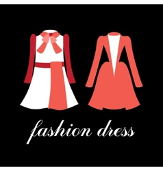 Fashion dress vector