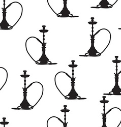 Hookah seamless pattern vector