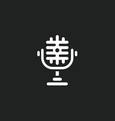 microphone icons - on vector image