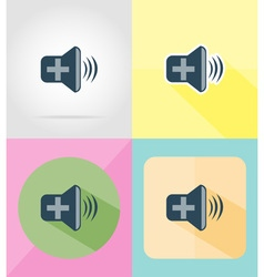 Service flat icons 34 vector