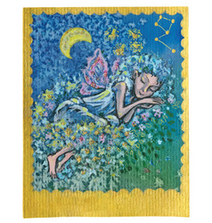 Tarot card - nice dreams vector