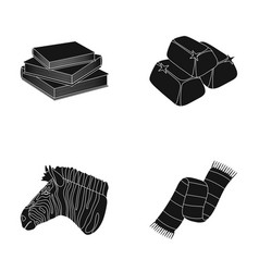 Training animal and or web icon in black style vector