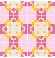 Abstract geometric seamless pattern ornament vector image vector image