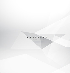 Abstract clean white gray background vector