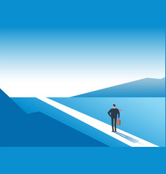 new way concept beginning journey adventures and vector image