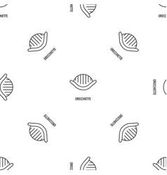 Orecchiette pattern seamless vector