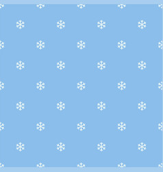 seamless snowflakes pattern background for vector image