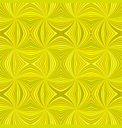 yellow seamless abstract psychedelic swirl stripe vector image