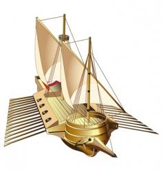 galley vector image