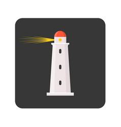 Lighthouse icon vector