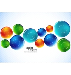 Background with spheres vector image vector image