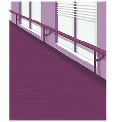Office Interior vector image vector image