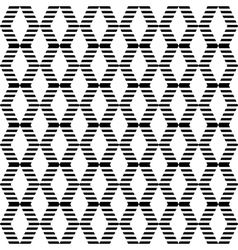 Seamless texture with diamond elements vector image