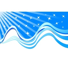 beautiful background with stars vector image