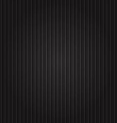Black background with striped vector image