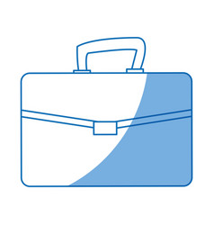 Buisness suitcase document work design vector