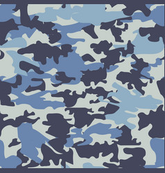 camouflage military seamless pattern vector image