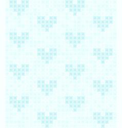 cyan heart pattern seamless vector image