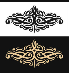 elegant design element vector image