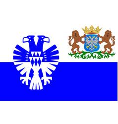 flag of arnhem of gelderland netherlands vector image