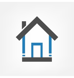 Homes background vector image