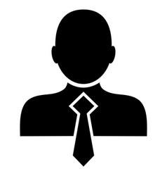 Office man - icon vector