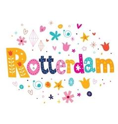 Rotterdam vector