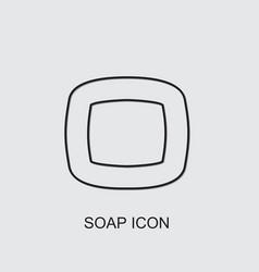 Soap icon vector