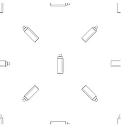 Sunscreen lotion pattern seamless vector