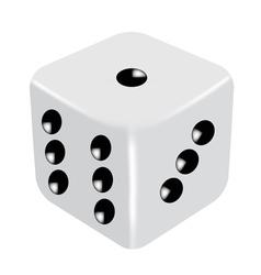 dice vector image vector image