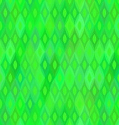 Green Geometric Background Seamless Pattern vector image vector image