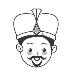 balthazar magi icon vector image