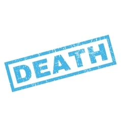 Death Rubber Stamp vector