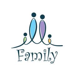 Family logo vector