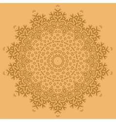 Mandala Isolated Round Ornament vector