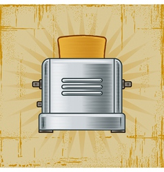 Retro Toaster vector image