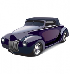 smart hot rod vector image