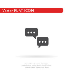 sms icon for web business finance and vector image