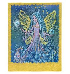 tarot card - fullfiled wishes vector image