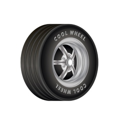 Car Wheel for sport vector image vector image