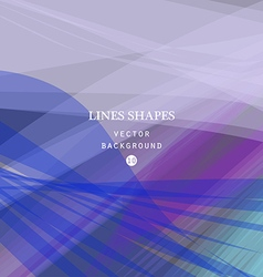 Colorful abstract background blue purple waves vector image vector image