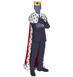 king of business vector image vector image