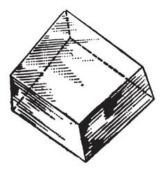 Aluminum vintage vector