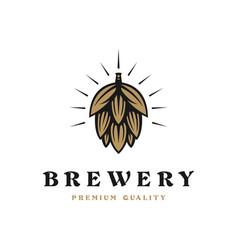 Brewing company logo brewing logo vintage brewing vector