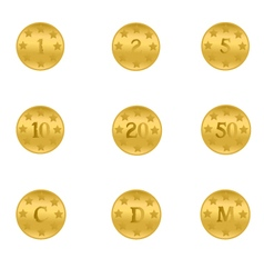 Gold-Coins vector