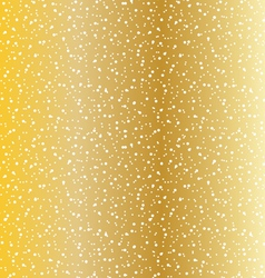 Gold dot texture vector