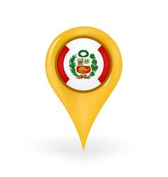 Location Peru vector image