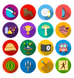 Rest sport business and other web icon in flat vector