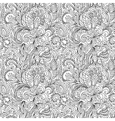 Seamless pattern for coloring book Ethnic vector image