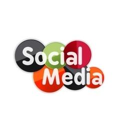 Social media banner vector